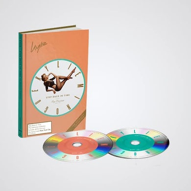 Kylie Minogue Step Back In Time Deluxe Deluxe CD
