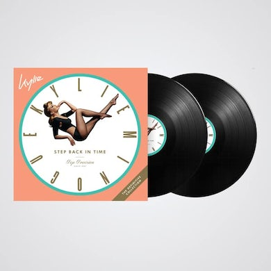 Kylie Minogue Step Back In Time Double LP (Vinyl)