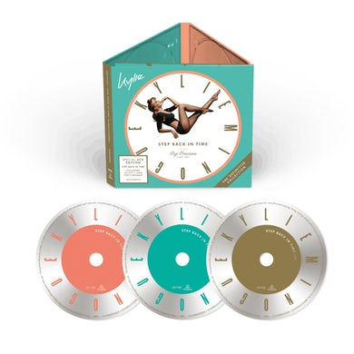 Kylie Minogue Step Back In Time 3CD Album (Special Edition) CD