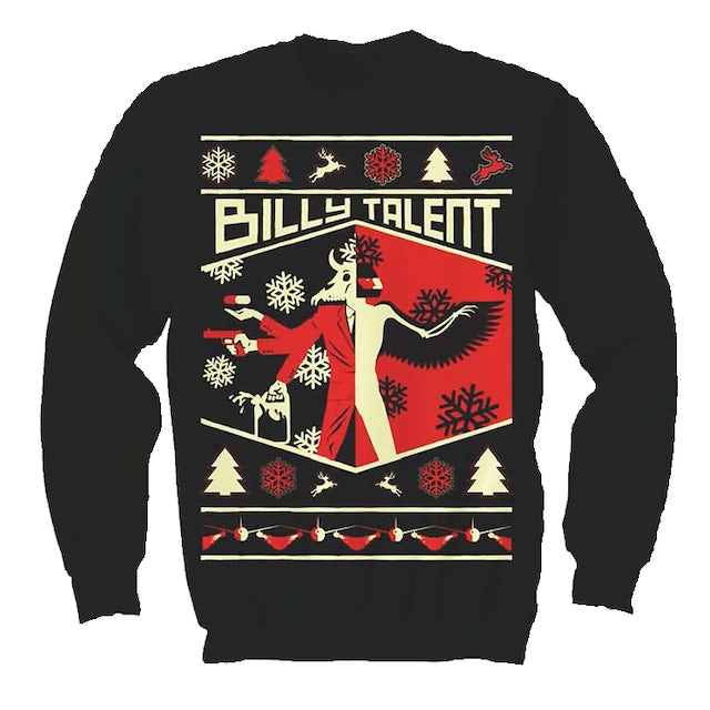 Billy Talent Afraid Of Heights Xmas Sweater
