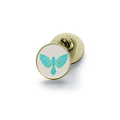 Israel Nash Enamel Pin