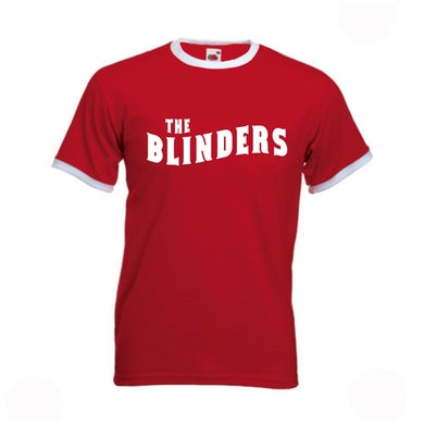 The Blinders Red / White Ringer T-Shirt