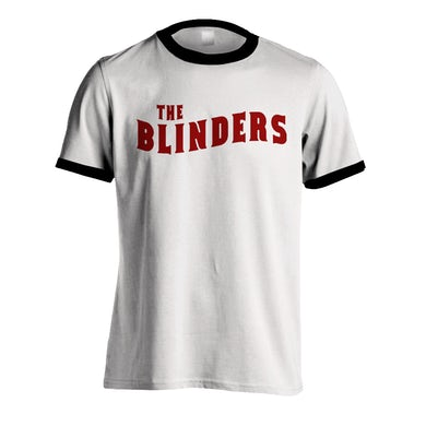 The Blinders White Ringer Wave Logo