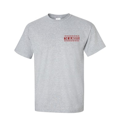 The Blinders Red Barbed Wire Grey T-Shirt