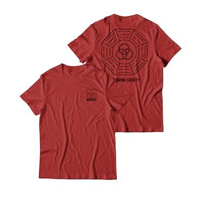Hoodwink Snake T-Shirt (Red)
