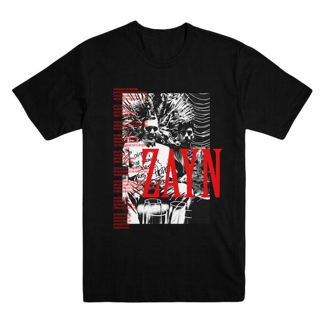 Zayn Let Me Lyric T-Shirt