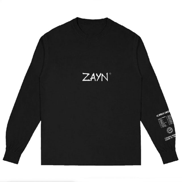 Zayn Icarus Falls Long Sleeve T-Shirt