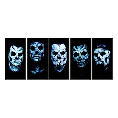 Good Charlotte Skull Sticker Set