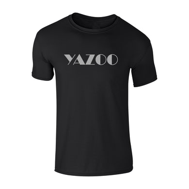Yazoo Logo Black T-Shirt