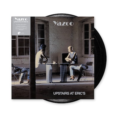 Yazoo Upstairs At Eric's Heavyweight Black Vinyl Heavyweight LP