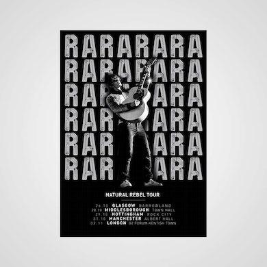 Richard Ashcroft Natural Rebel Tour Poster