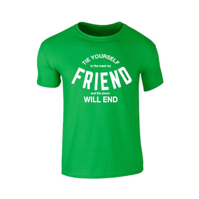 Richard Ashcroft Friend Green T-Shirt
