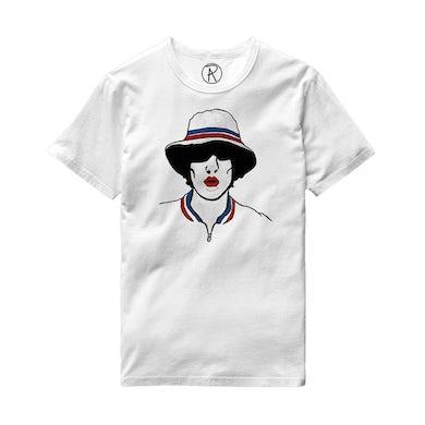 Richard Ashcroft Illustration White T-Shirt