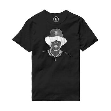Richard Ashcroft Illustration Black T-Shirt