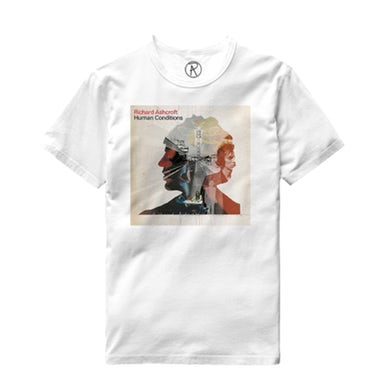 Richard Ashcroft Human Conditions White Album T-Shirt