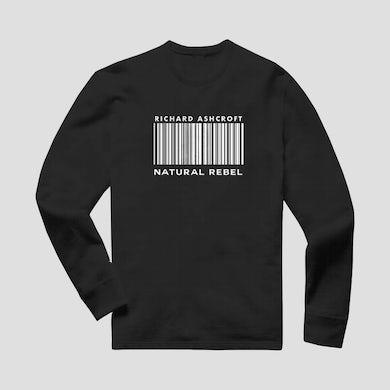 Richard Ashcroft Natural Rebel Black Barcode Sweatshirt