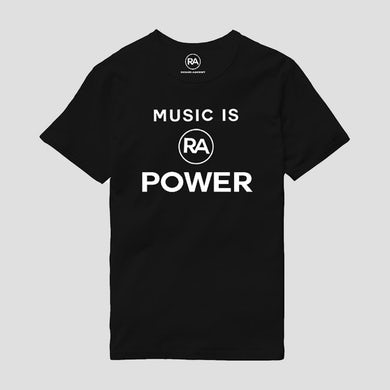 Richard Ashcroft Music Is Power Black T-Shirt