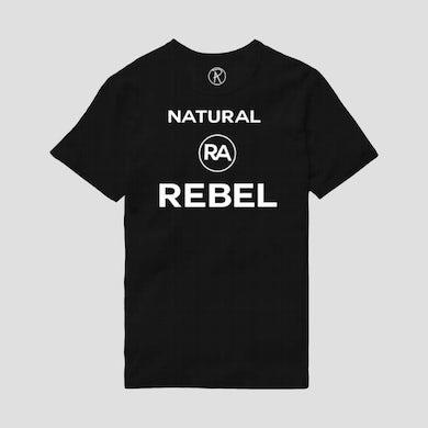 Richard Ashcroft Natural Rebel Black T-Shirt