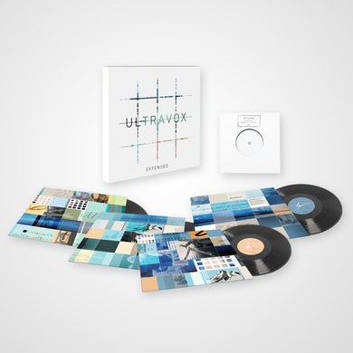 Ultravox Extended - The 12-Inch Remix Collection 4LP Limited Edition Vinyl Boxset Boxset