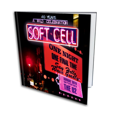 Soft Cell Say Hello, Wave Goodbye: The O2 London Super Deluxe Photobook CD Collector's Pack