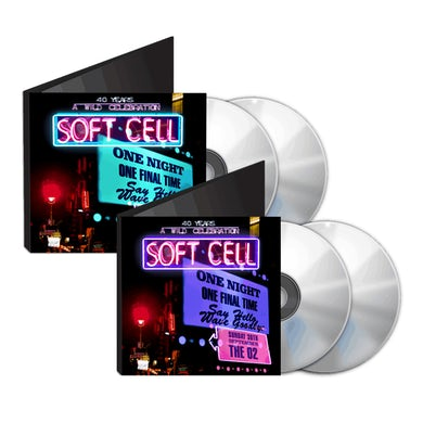 Soft Cell Say Hello, Wave Goodbye: The O2 London 2CD + DVD & BluRay Double Pack (w/ Download) CD Collector's Pack
