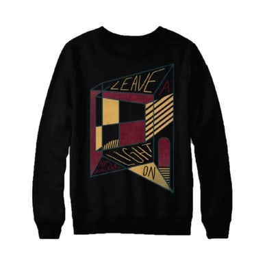 Tom Walker Geo Crew Neck Sweat Black