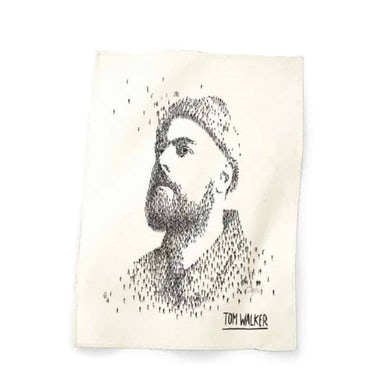 Tom Walker Album Tea Towel