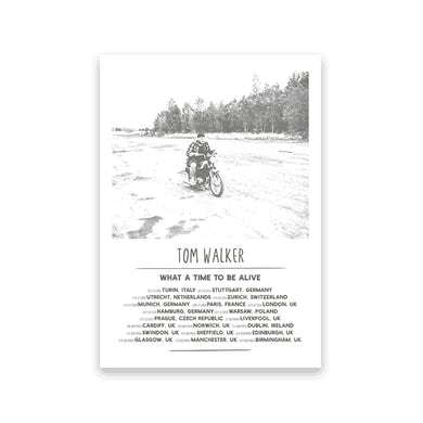 Tom Walker A3 Tour Screen Print