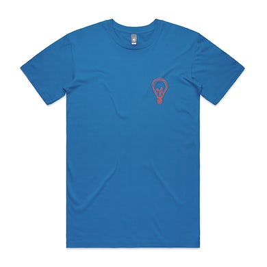 Tom Walker Lightbulb Blue T-Shirt