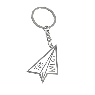 Tom Walker Paper plane keyring