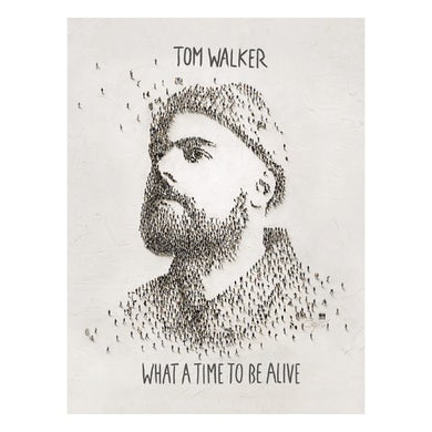 Tom Walker What a time to be alive A2 Poster