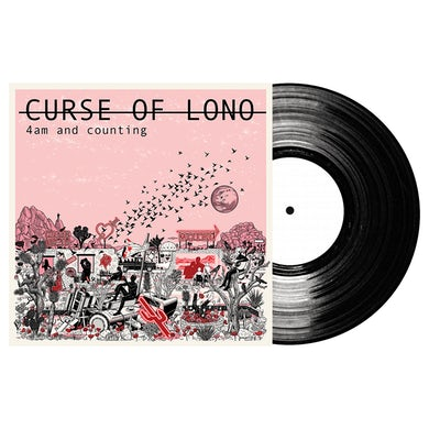 Curse Of Lono 4am And Counting Translucent Red LP (Vinyl)