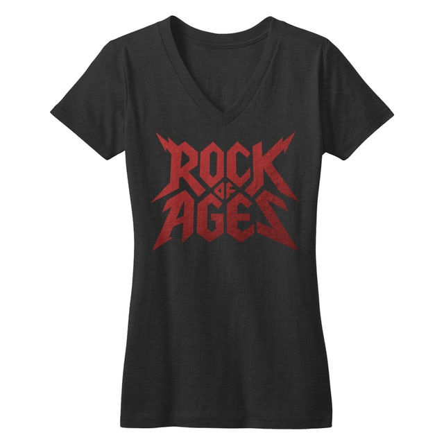Rock Of Ages V-Neck T-Shirt