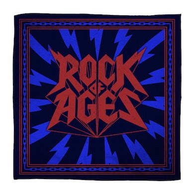 Rock Of Ages Logo Bandana
