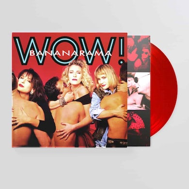 Bananarama WOW! Red (Ltd Edition) LP (Vinyl)