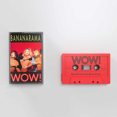 Bananarama WOW! Red (Ltd Edition) Cassette