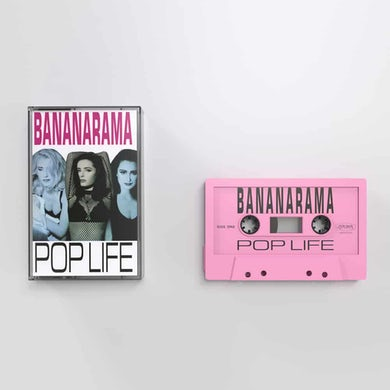Pop Life Pink (Ltd Edition) Cassette
