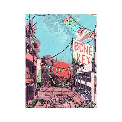 Gazel Bone Key A3 Artwork Print