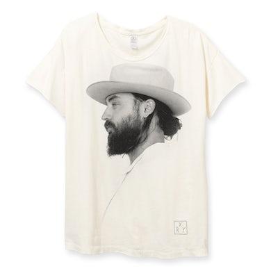 RY X White Unfurl T-Shirt