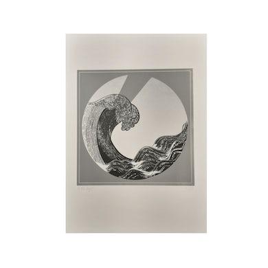 Mara Simpson Wave Print