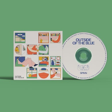 Outside Of The Blue  CD