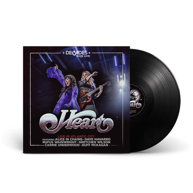 earMUSIC Live In Atlantic City Double Vinyl + Download Code Double Heavyweight LP