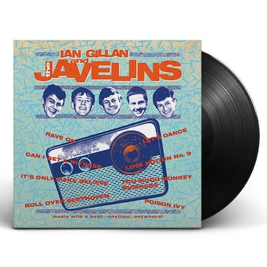 earMUSIC Raving With Ian Gillan & The Javelins LP (Vinyl)