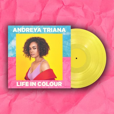 Life In Colour Yellow LP (Vinyl)