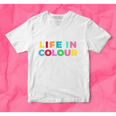 Andreya Triana A Life In Colour T-Shirt