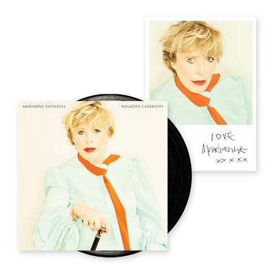 Marianne Faithfull Negative Capability LP (Vinyl)