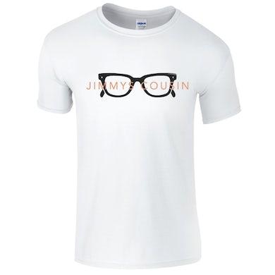 Jimmy's Cousin White Glasses T-Shirt