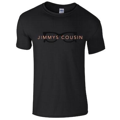 Jimmy's Cousin Black Glasses T-Shirt