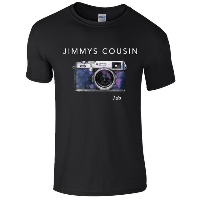 Jimmy's Cousin Black I Do T-Shirt