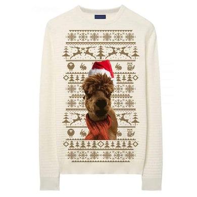 Leona Lewis Beige Alpaca Sweatshirt